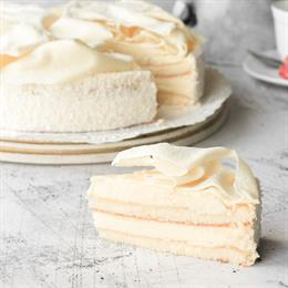 Купить Торт Тартюфо Бьянко с доставкой в Москве и СПб | cheese-cake.ru